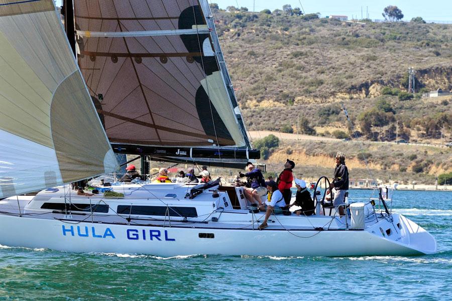 Offshore Yacht Racing Seminar onboard Hula Girl